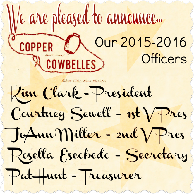 2015-2016 CCB Officers